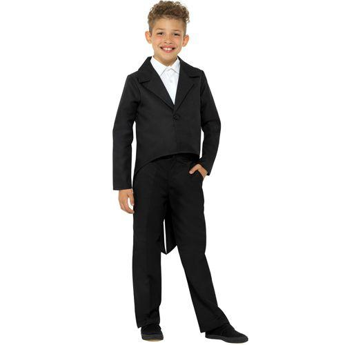Children's Black Tailcoat