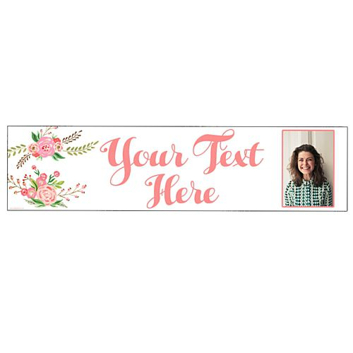 Boho Personalised Photo Banner - 1.2m