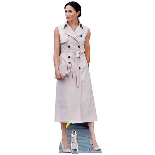 Meghan Markle Duchess of Sussex Cardboard Cutout - 1.7m