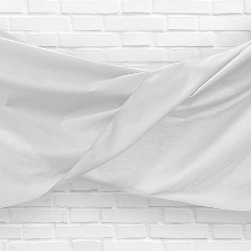 White Fabric Drapes - 1.1m Wide - Per Metre