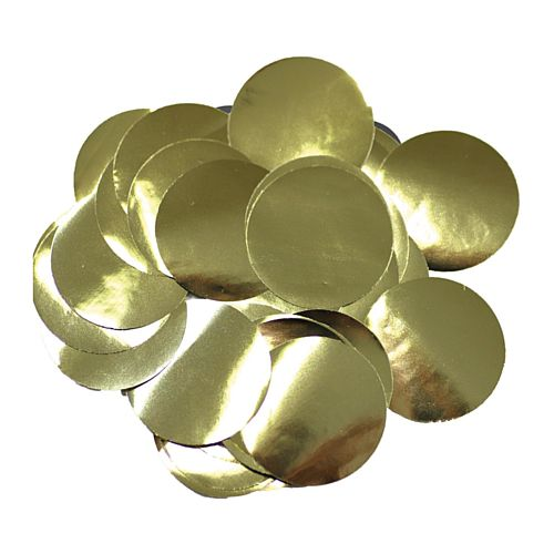 Metallic Gold Foil Dot 10mm Confetti - 14g