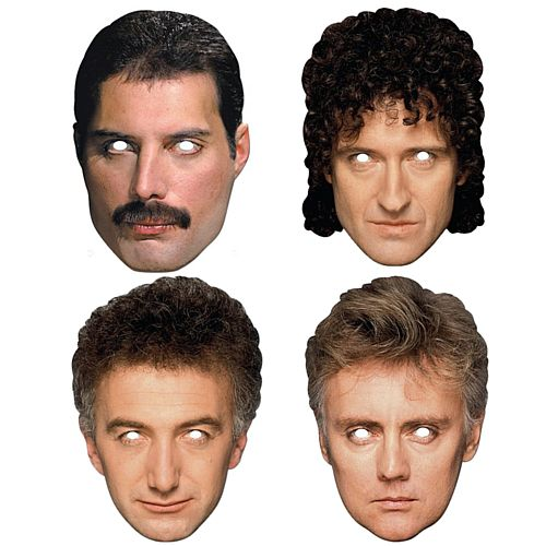 Queen Celebrity Card Mask Pack