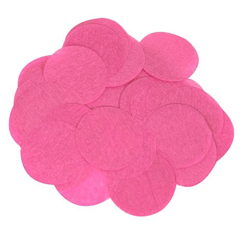 Biodegradable Fuchsia Pink Paper Confetti 15mm - 14g