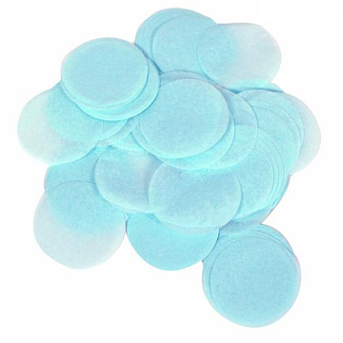 Biodegradable Light Blue Paper Confetti 15mm - 14g