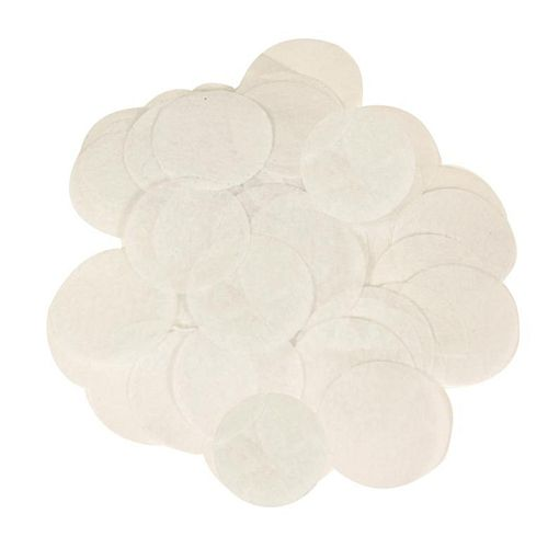 White Paper Confetti  - Biodegradable - 15mm - 14g