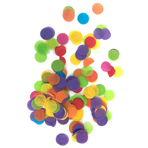 Biodegradable Multi Colour Paper Confetti 15mm - 14g