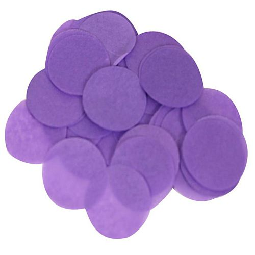 Biodegradable Purple Paper Confetti 15mm - 14g
