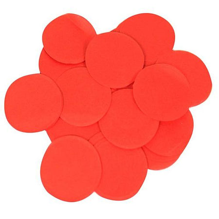 Red Paper Confetti - Biodegradable - 15mm - 14g