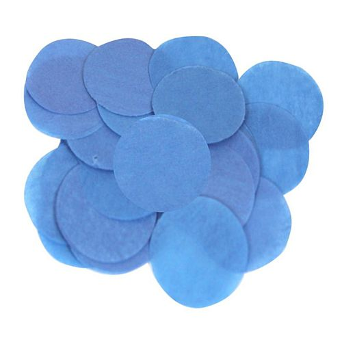 Blue Paper Confetti - Biodegradable - 15mm - 14g