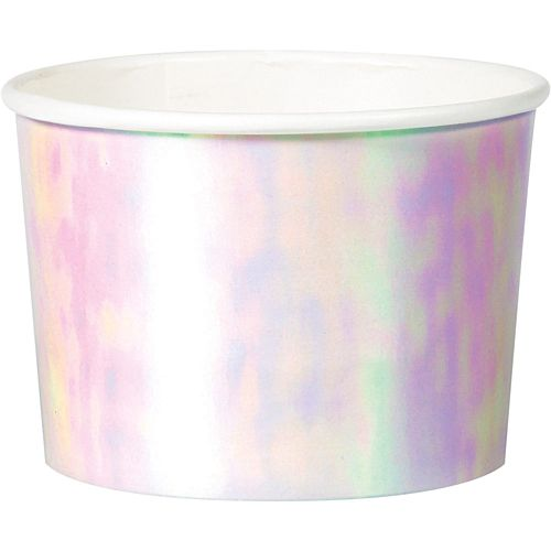 Iridescent Treat Tubs - 9oz - Pack of 6