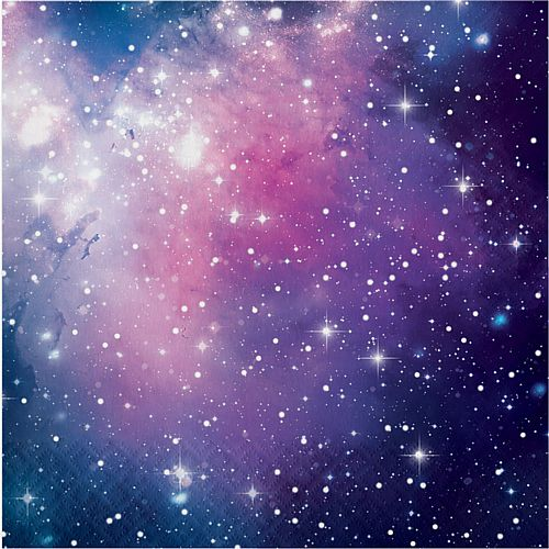 Galaxy Party Napkins - 33cm - Pack of 16