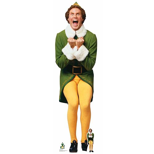Buddy the Elf Lifesize Cardboard Cutout - 1.87m