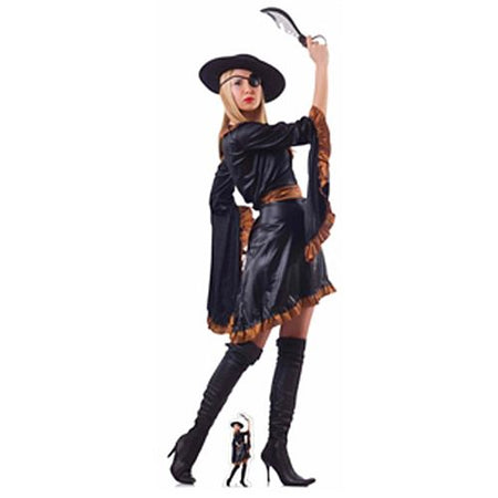 Click to view product details and reviews for Pirate Woman With Sword Lifesize Cardboard Cutout.