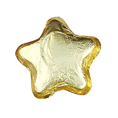 Gold Foil Chocolate Star - 6g - Each