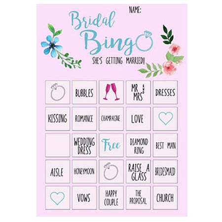 Click to view product details and reviews for Hen Party Bride Bingo Game Pack Of 14.