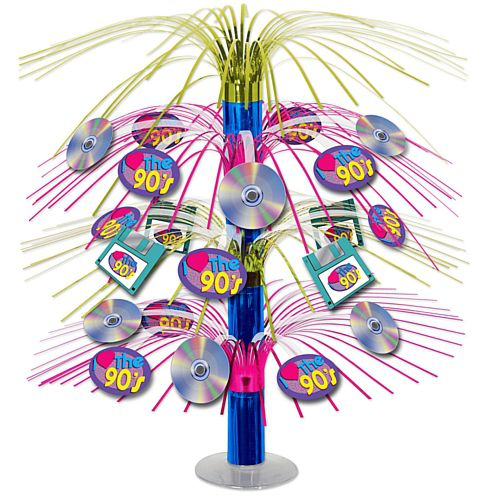 I Love the 90's Cascade Centrepiece - 46cm