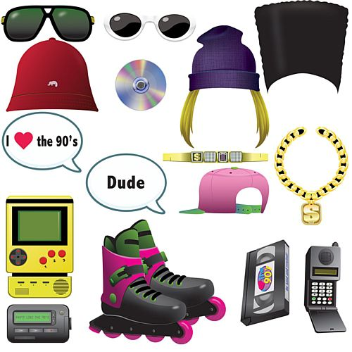 90's Selfie Kit - 30cm - Pack of 16