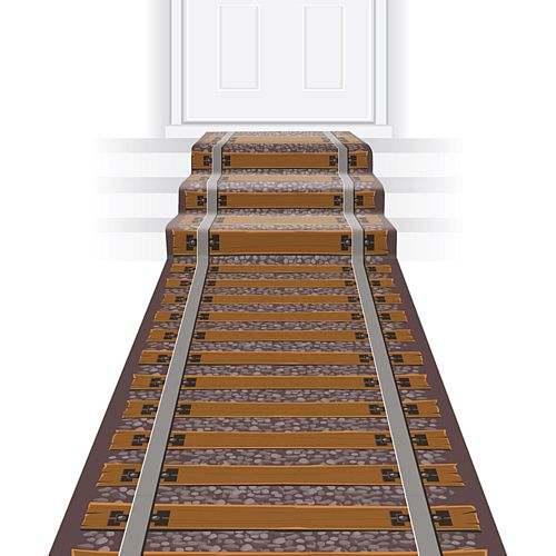 Railroad Track Floor Runner - 3m