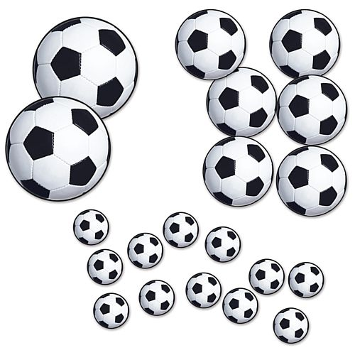 Football Cutouts - 30cm - Pack of 20