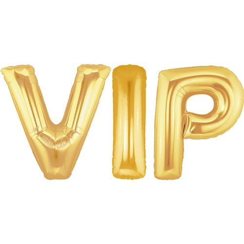 "VIP 40"" Gold Foil Balloon Pack"