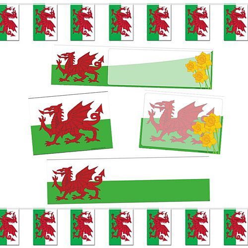 Small St Davids Welsh Decoration Pack