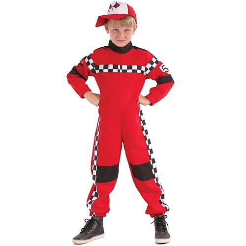 Kid's Racing Driver Costume