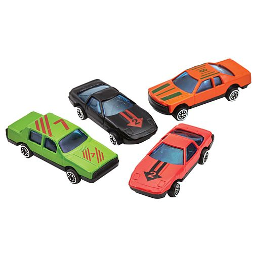 Die Cast Toy Cars - 5.5cm - Pack of 4