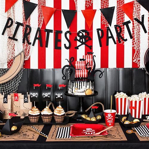 Pirates Party Banner - 1m