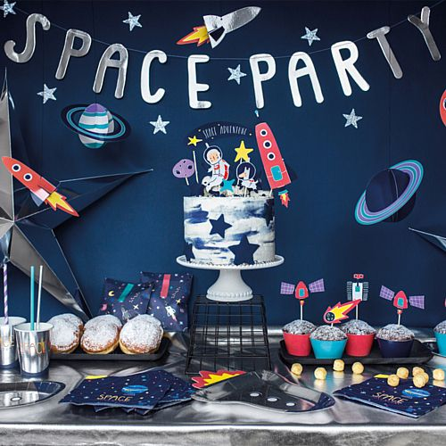 Space Party Letter Banner - 96cm