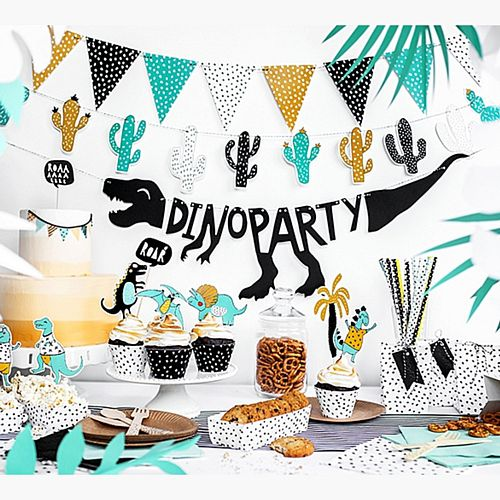 Dino Party Banner - 90cm