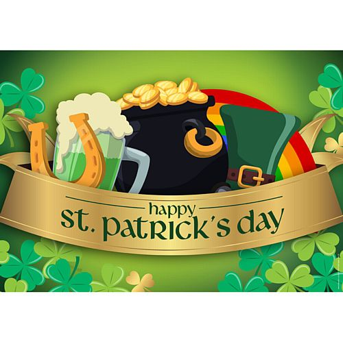 St. Patrick's Day Poster - A3
