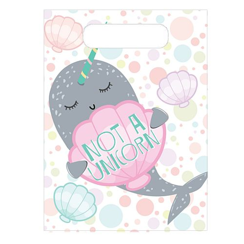 Narwhal Party Bags - Pack of 8