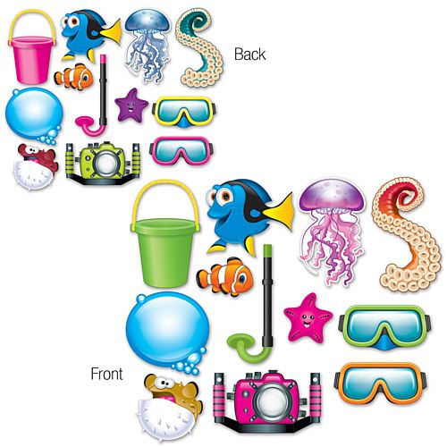 Under The Sea Selfie Kit - 27cm - Pack of 12