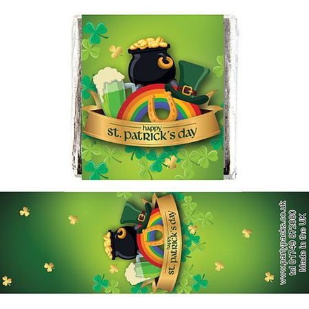 Click to view product details and reviews for Square Chocolates St Patricks Day Pack Of 16.