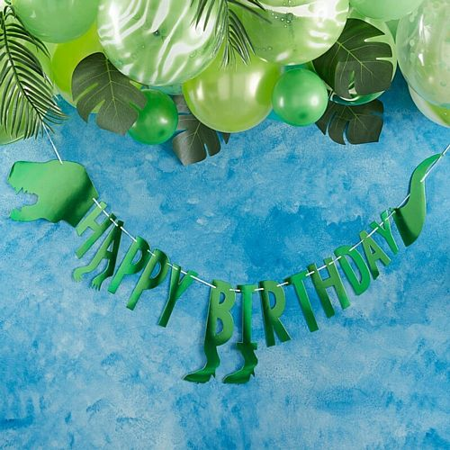 Roarsome Dinosaur Birthday Party Bunting - 2m