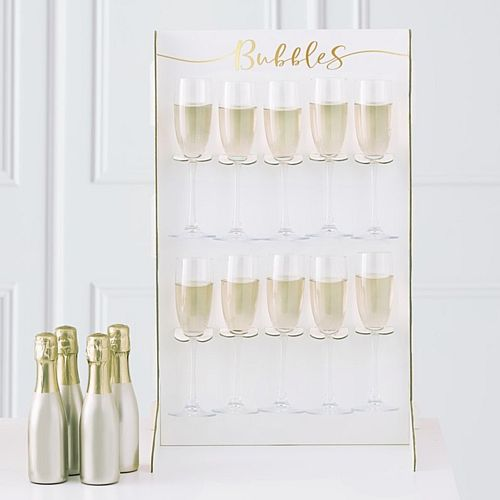 Prosecco Bubbly Drinks Wall Holder - 60cm