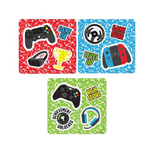 Gamer Jigsaw Puzzle - Assorted - Each