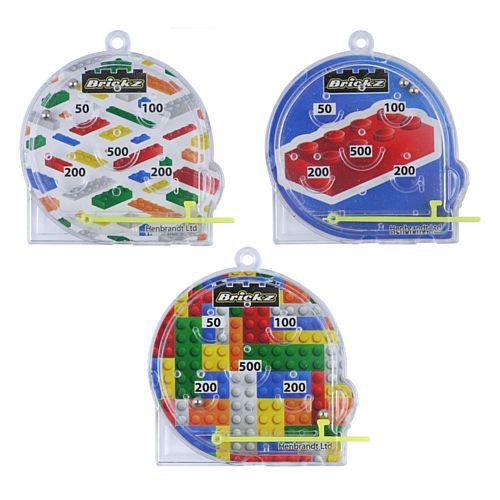 Building Blocks Pinball Puzzle - Each