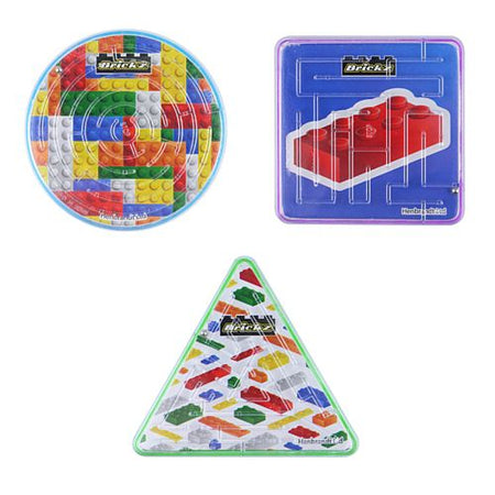 Building Blocks Puzzle Maze - Assorted - Each