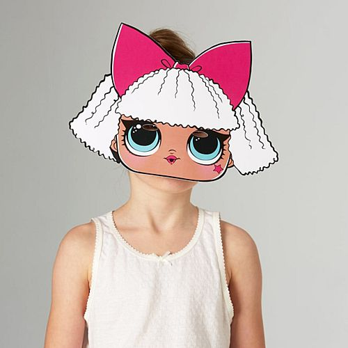 Diva LOL Surprise Card Mask