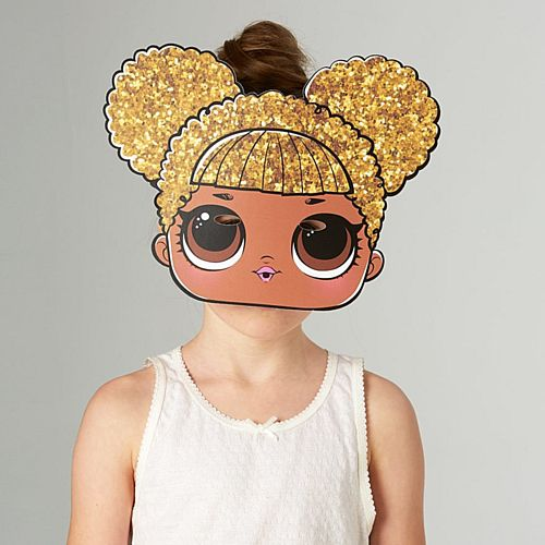 Queen Bee LOL Surprise Card Mask