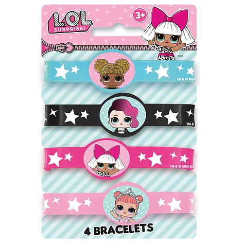 Lol Surprise Bracelets  - Pack of 4