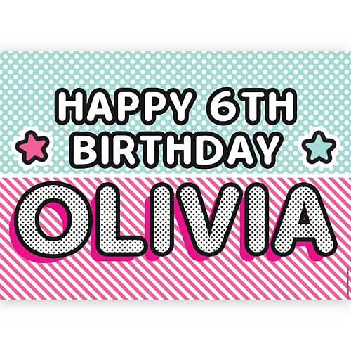 Surprise Birthday Personalised Poster - A3