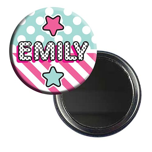 Surprise Birthday Personalised Pocket Mirror - 58mm - Each