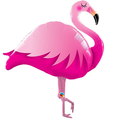 Flamingo Supershape Balloon - 46""