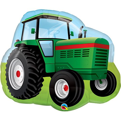 Tractor Supershape Balloon - 34""