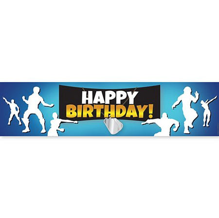 Click to view product details and reviews for Battle Royale Happy Birthday Banner 12m.