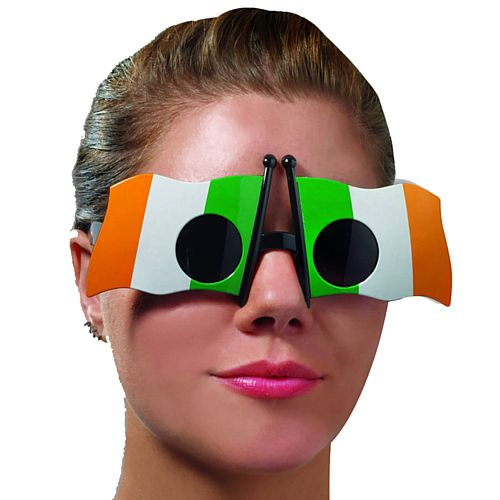 St. Patrick's Day Irish Flag Glasses