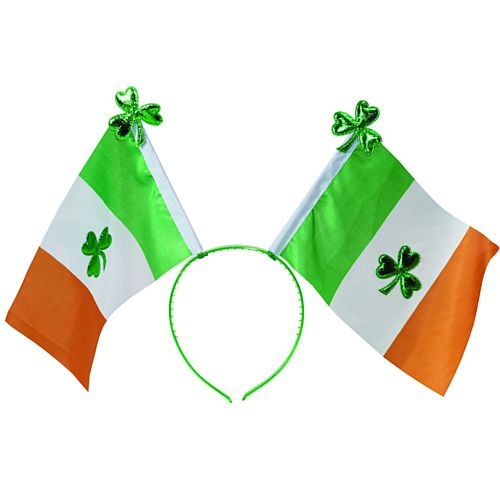 St. Patrick's Day Irish Flag Shamrock Headboppers