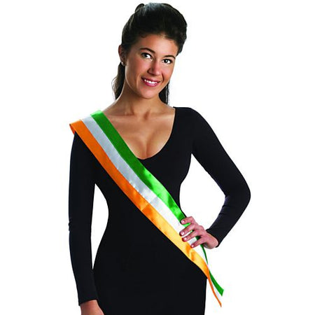 St. Patrick's Day Irish Flag Sash